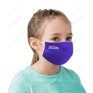 US Stock-Kid's Moisture Wicking Face Mask with Filter Pocket